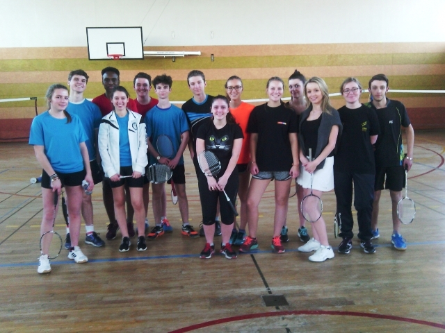 lycee paul claudel badminton