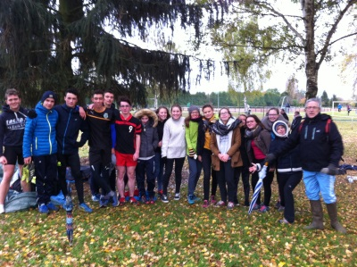cross UNSS Paul Claudel  novembre 2016